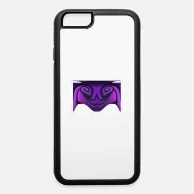 Creepy Dark Spooky Purple Freaky Halloween - iPhone 6 Case