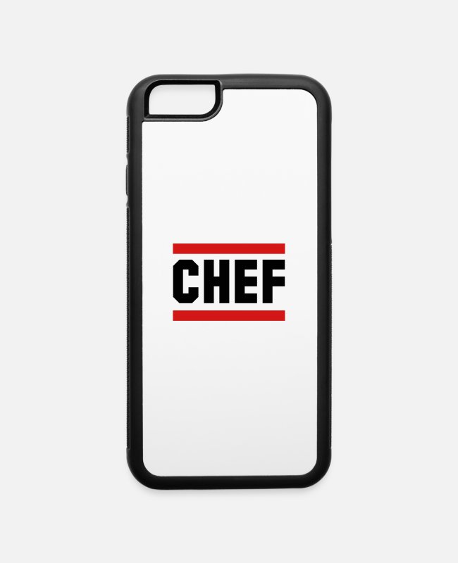 Restaurant iPhone Cases - chef - iPhone 6 Case white/black