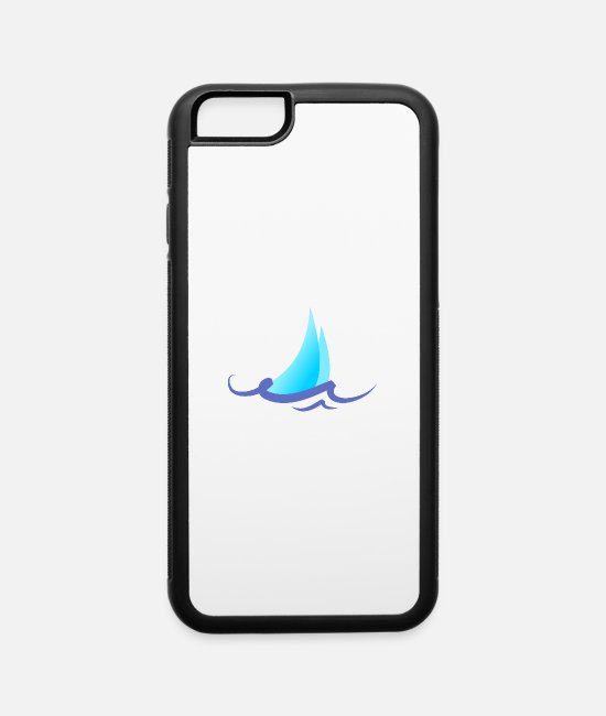 Design iPhone Cases - Summer - Wave - Design - Water - Vacation - iPhone 6 Case white/black