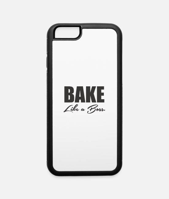 Movie iPhone Cases - Bake Like A Boss 7 - iPhone 6 Case white/black