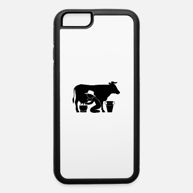 Udder A Farmer Milking A Cow - iPhone 6/6s Rubber Case