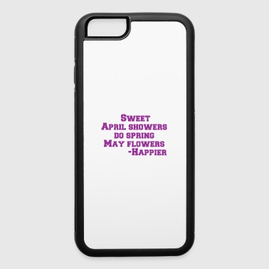 Shop springfield iphone cases online spreadshirt sweet april showers do spring may flowers happier iphone 66s rubber case mightylinksfo
