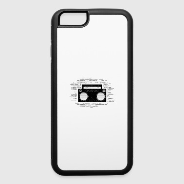 Funny Cassette - Boom Box Music Sounds Songs Humor - iPhone 6/6s Rubber Case