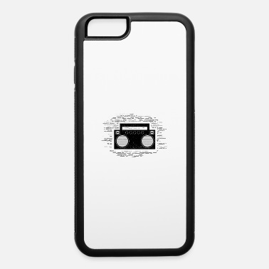 Tape Funny Cassette - Boom Box Music Sounds Songs Humor - iPhone 6/6s Rubber Case