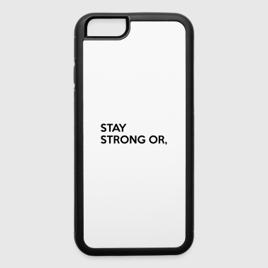 Goalkeeper Soccer Player - iPhone 6/6s Rubber Case
