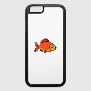 Salmon Cool Cute Funny Fish Fishing - iPhone 6/6s Rubber Case