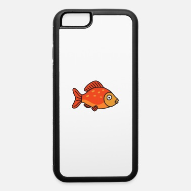 Aquarium Cool Cute Funny Fish Fishing - iPhone 6/6s Rubber Case
