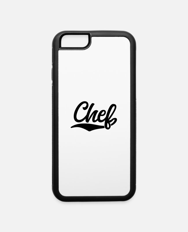 Office iPhone Cases - chef - iPhone 6 Case white/black