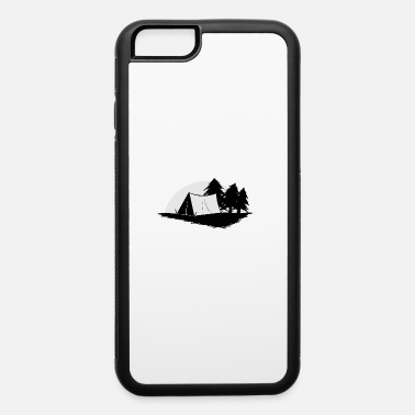 Camp Site camp site tent outdoor activity romantic gift - iPhone 6 Case