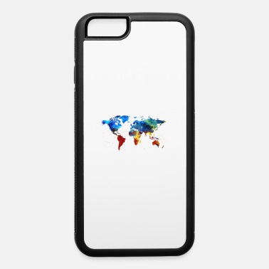 Map Colourful World Map - iPhone 6 Case