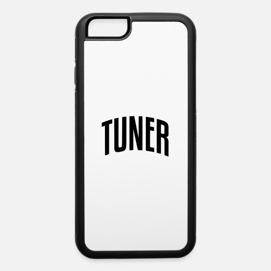 Tuner iPhone Cases - TUNER - iPhone 6 Case white/black
