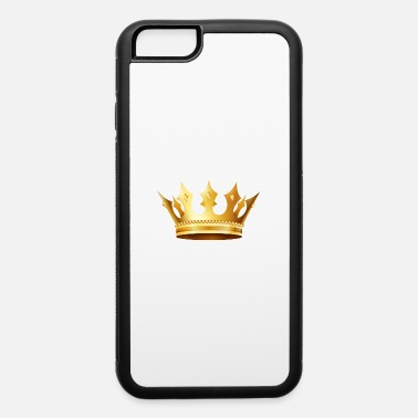 Jewelry King prince monarch VIP golden crown gold image - iPhone 6/6s Rubber Case