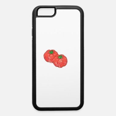 Retro Retro Vintage Grunge Style Tomatoes - iPhone 6/6s Rubber Case