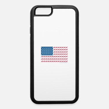 Rescue Dog Greyhound Flag - iPhone 6 Case