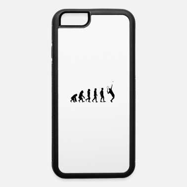 Tennis The evolution of tennis player - iPhone 6 Case