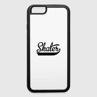 skater drawing - iPhone 6/6s Rubber Case