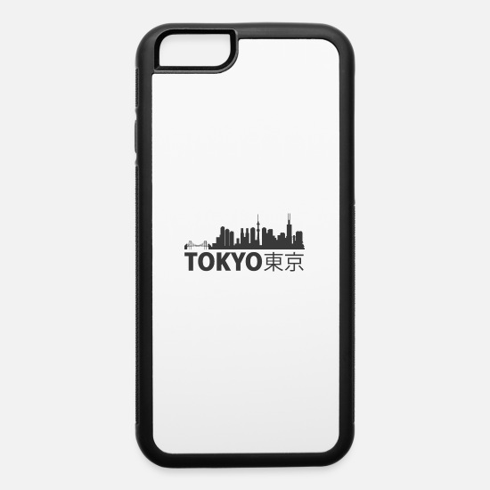 Love iPhone Cases - TOKYO CITY SKYLINE - iPhone 6 Case white/black