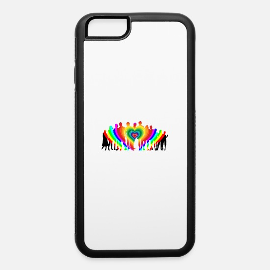 Family Reunion iPhone Cases - Family Love - iPhone 6 Case white/black