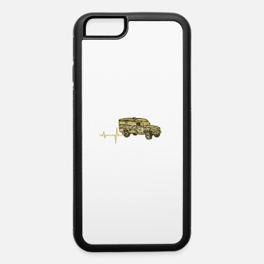 Masterjs gift heartbeat military ambulance - iPhone 6 Case
