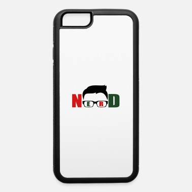Logo nerd funny logo - iPhone 6/6s Rubber Case