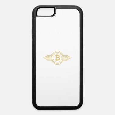 Stock Market Bitcoin Golden - iPhone 6/6s Rubber Case