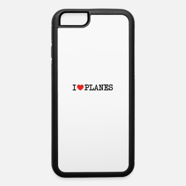 Jet I love Planes I heart Airplanes Gift Spotter - iPhone 6/6s Rubber Case