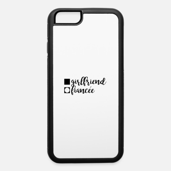 Bride iPhone Cases - Girlfriend Fiancee - iPhone 6 Case white/black