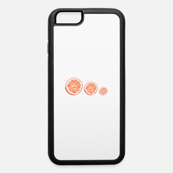 Special iPhone Cases - oranges - iPhone 6 Case white/black