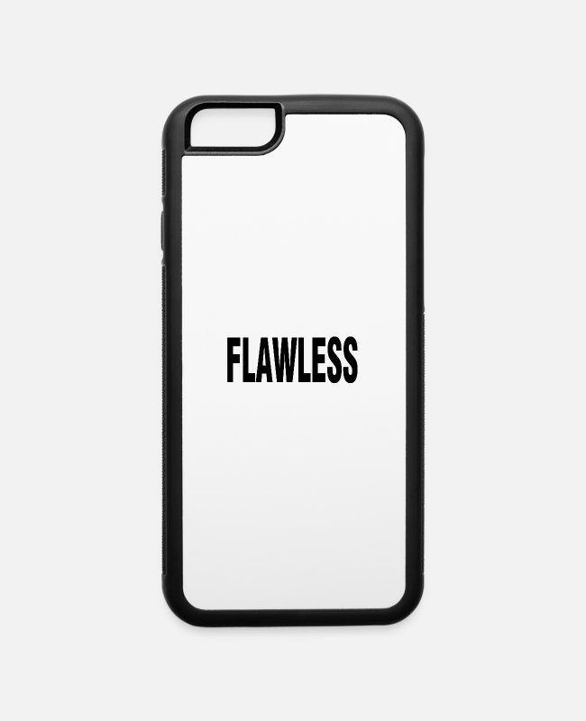 Pop iPhone Cases - Flawless Beyonce T Shirt Top Drunk In Love - iPhone 6 Case white/black