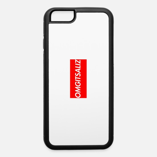 huge discount 974af a12bf supreme logo iPhone 6/6s Rubber Case - white/black