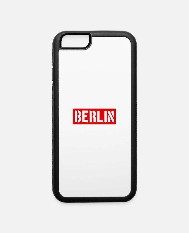 German Eagle iPhone Cases - Berlin - Germany - Europe - Brandenburg Gate - iPhone 6 Case white/black