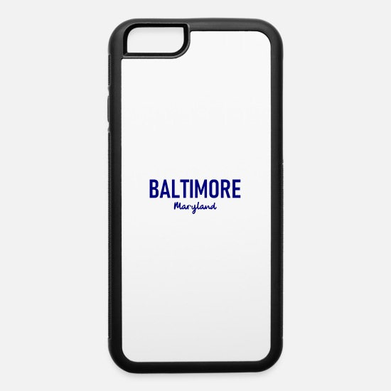 Gift Idea iPhone Cases - Baltimore - Maryland - US - State - United States - iPhone 6 Case white/black