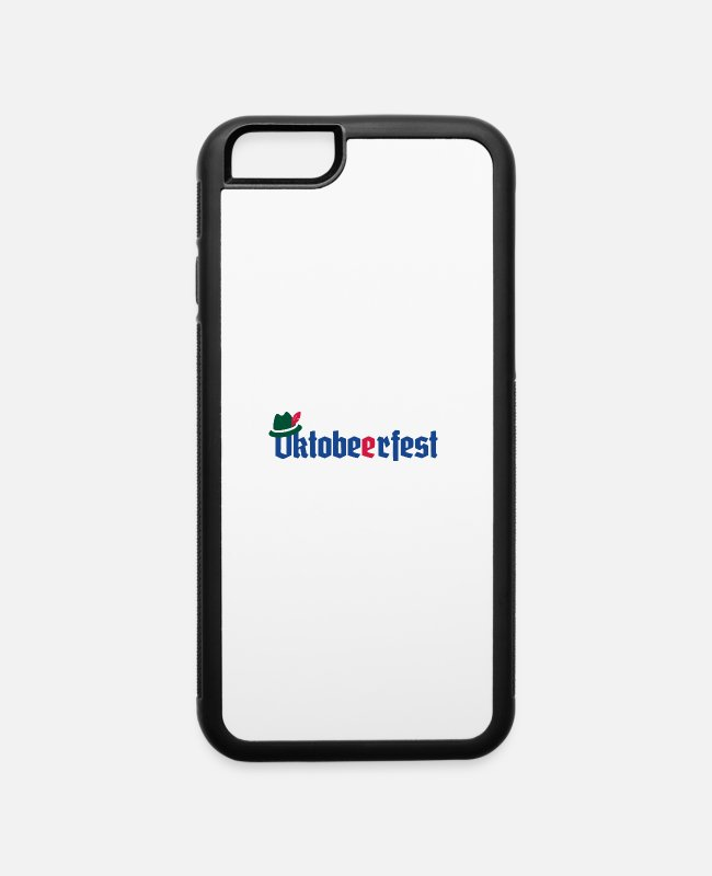 Munich iPhone Cases - Okto BEER Fest - iPhone 6 Case white/black