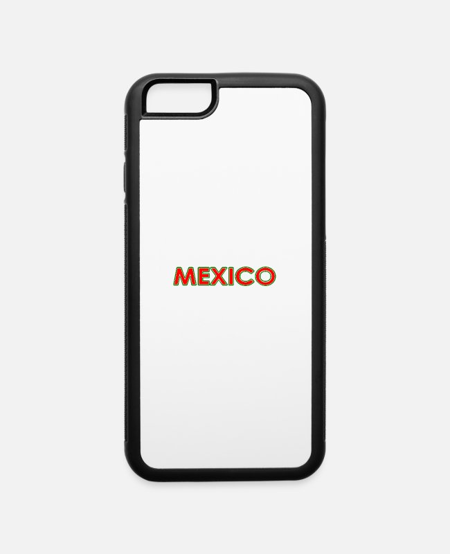 Quote iPhone Cases - Mexico - Slogan - Quote - National Colors - Latino - iPhone 6 Case white/black
