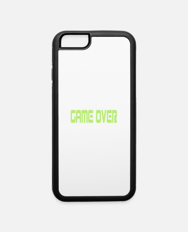 Overland Park iPhone Cases - GAME OVER - iPhone 6 Case white/black