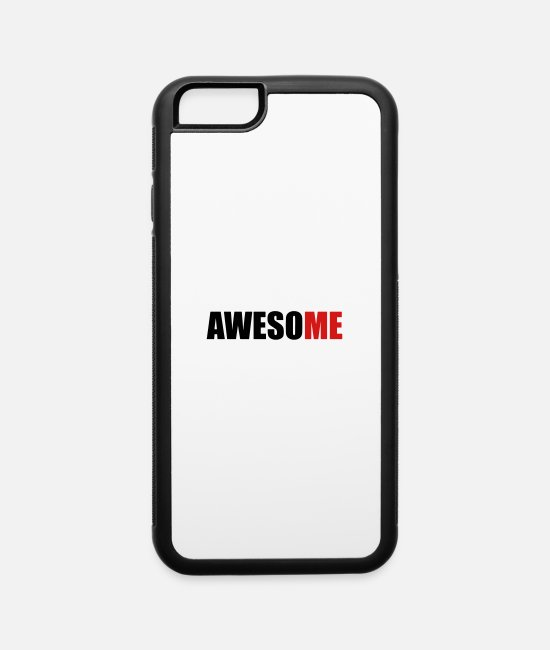 Miscellaneous iPhone Cases - AwesoME - iPhone 6 Case white/black