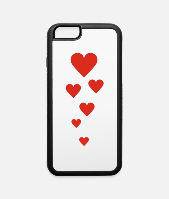 Amor iPhone Cases - love - iPhone 6 Case white/black