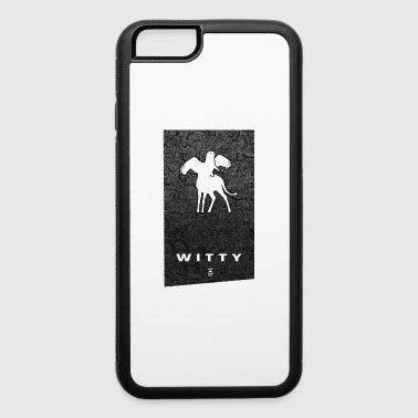 Witty Banner WITTY - iPhone 6/6s Rubber Case