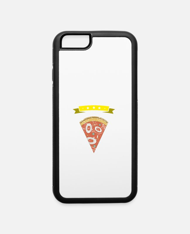 Pizza iPhone Cases - I love pizza gift - iPhone 6 Case white/black
