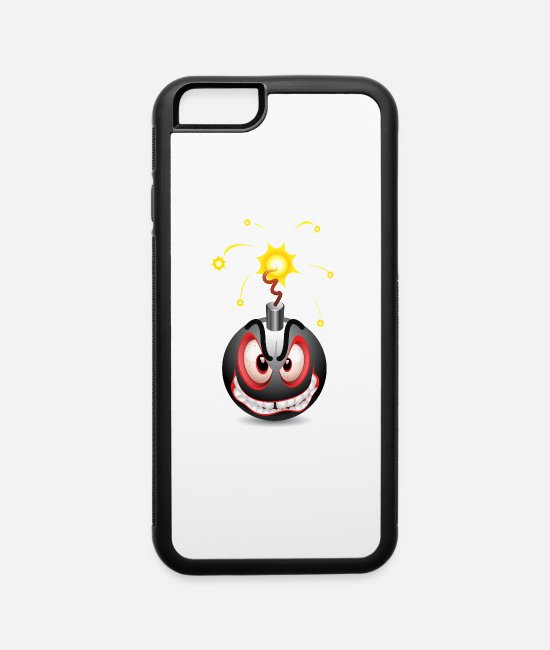 Eye iPhone Cases - bomb - iPhone 6 Case white/black