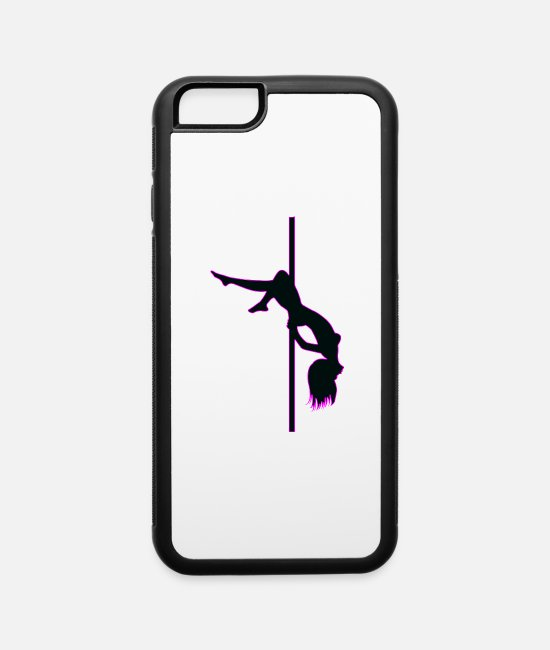 Pole Dance iPhone Cases - Stripper - Pole Dancing - Dancer - Nude - Naked - iPhone 6 Case white/black