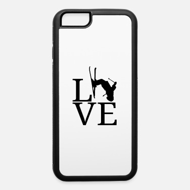 Ski Jumping Ski Skiing Freestyle Jump Winter Sports Jumping - iPhone 6/6s Rubber Case