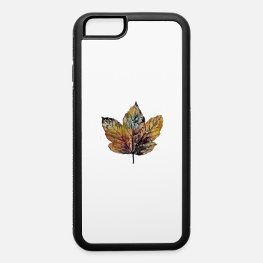 Key autumn leaves maple colorful design - iPhone 6 Case