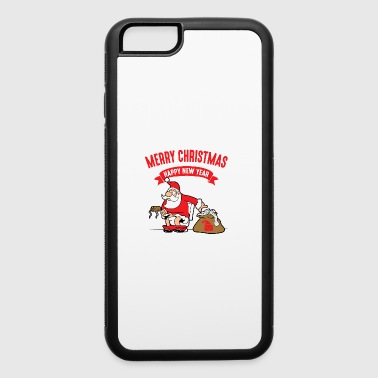 Ugly Funny Cool Cute Santa Claus Christmas Xmas Gifts - iPhone 6/6s Rubber Case
