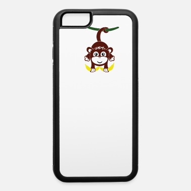 Skirt Monkey with banana - iPhone 6/6s Rubber Case