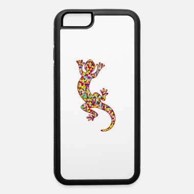 Gecko Lizard / gecko / colors - iPhone 6 Case