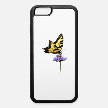 Flower Tiger Swallowtail on Aster - iPhone 6 Case
