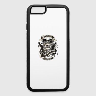 US American Right To Bear Arms 2nd Amendment USA Quote Awesome - iPhone 6/6s Rubber Case