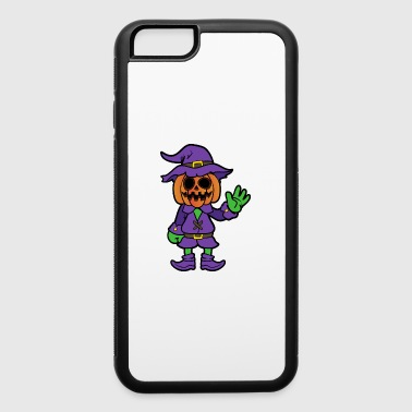 Halloween Monster Zombie Scary Horror Pumpkin - iPhone 6/6s Rubber Case