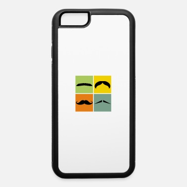 Moustache November Hipster Four moustaches gift idea November no shave - iPhone 6 Case
